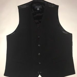 "Black Vest from ""Pronto Uomo"""